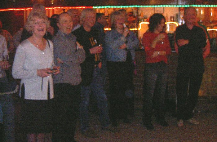 Romily, Graham, Geoff, Sue, Nicky and Adrian