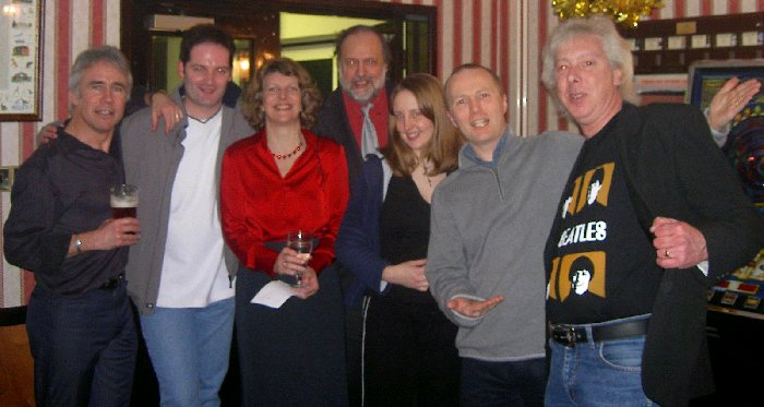 Peter, ??, Lindsay, Tony, Clare, Graham and Geoff