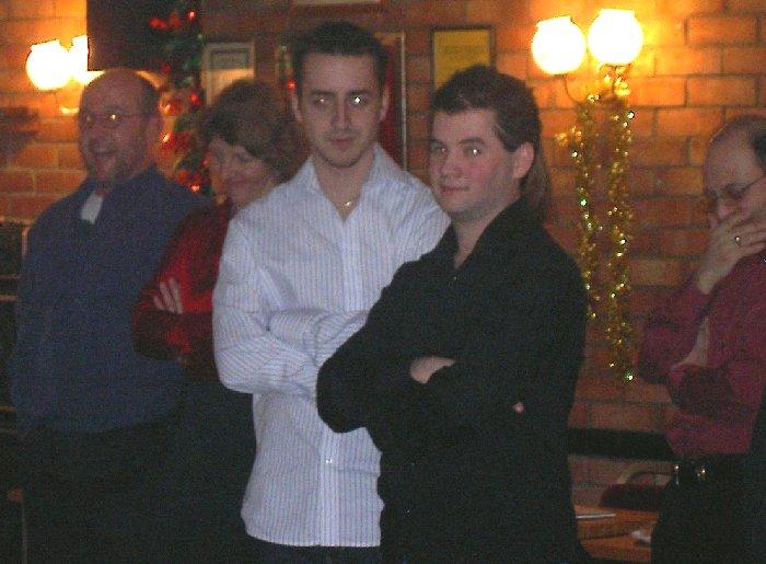 Tim, Lindsay, Matt, Gavin and Eddy