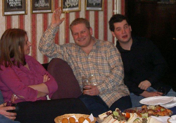 Caroline, Scott and Gavin