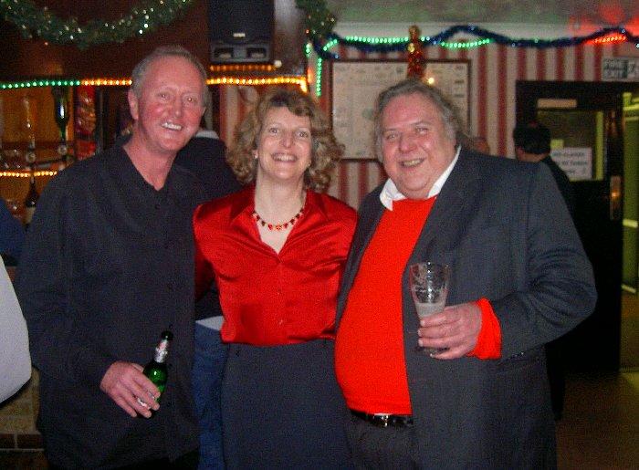 Adrian, Lindsay and Dennis