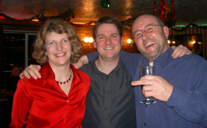 Lindsay, Pete and Tim