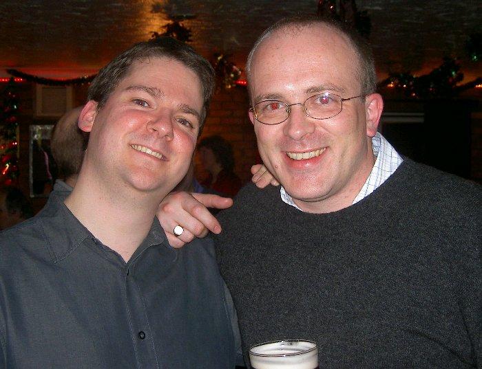 Pete and Richard