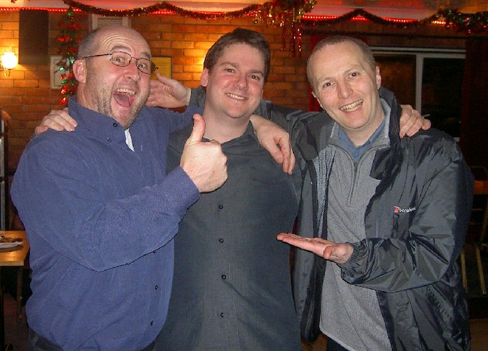 Tim, Pete and Graham