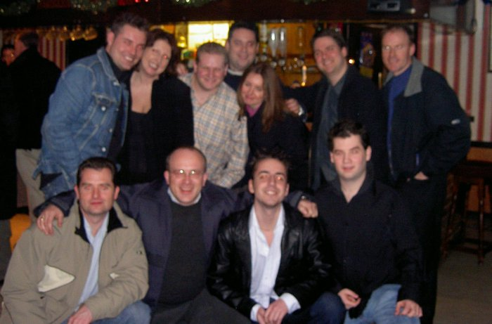 Andy, Tony, Heather, Richard, Scott, David, Caroline, Matt,Pete, Gavin and Neil