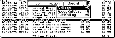 KallCost Screenshot